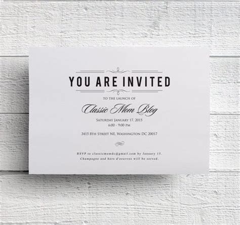 46+ Business Invitation Designs PSD AI Free & Premium