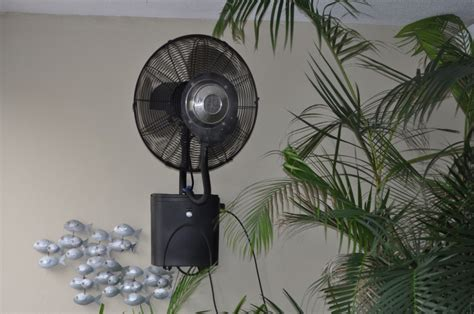 wall mounted patio fans small outdoor patio fans wall mount cookwithalocal home