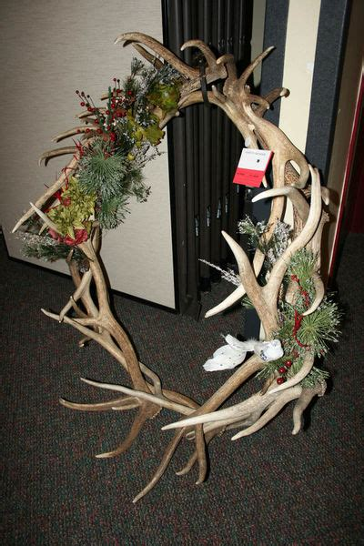shell elk antler wreath pinedale  news wyoming