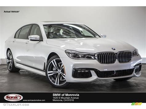 Bmw Mineral White by 2016 Mineral White Metallic Bmw 7 Series 750i Xdrive Sedan