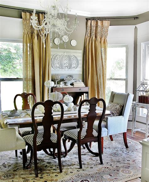fall decorating ideas   dining room