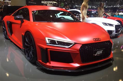 audi r8 modified abt to show four modified audis at this year 39 s geneva