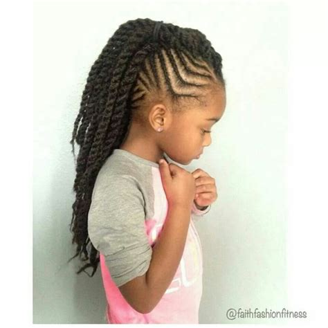 Twisted Mohawk Hairstyle by Braids With Twisted Mohawk Ponytail Braids