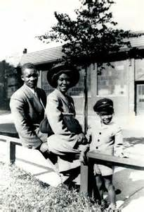 Gwendolyn Brooks and Family