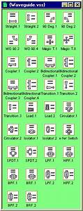 Rf Block Diagrams Stencils Shapes For Visio - V1