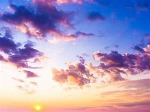 Bilder Vom Himmel : ein stoff in der luft f rbt den himmel lila er stammt von einer km entfernten ~ Buech-reservation.com Haus und Dekorationen