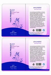 Cosmetic label template create cosmetic labeling labeljoy for Cosmetic label templates
