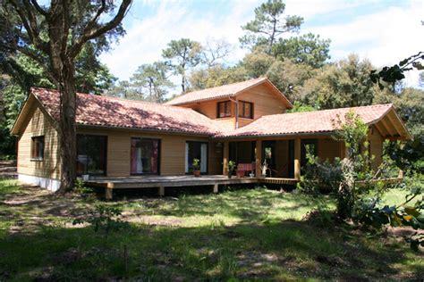 mayom maisons 224 ossature bois dans les landes la maison bois par maisons bois