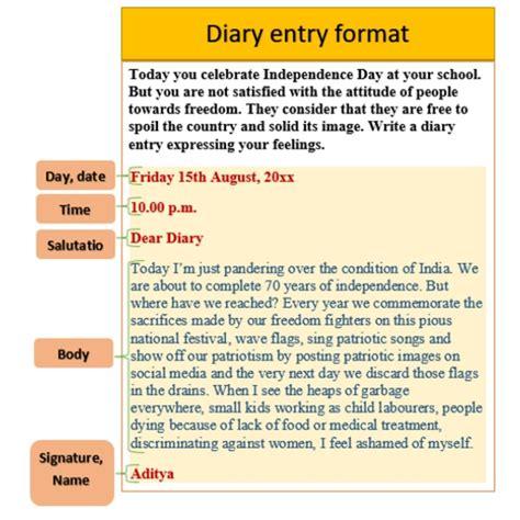 year  track  writing  diary entry teleskola
