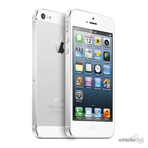 iphone 5 16gb price iphone 5 16gb compare prices plans deals whistleout