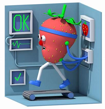 Strawberry Animation Healthy Apron Yorker Strawberries Reinvented