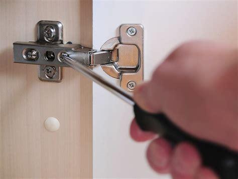 adjust cabinet doors