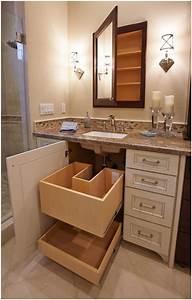 10, Clever, Hidden, Bathroom, Storage, Ideas