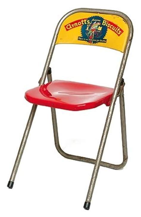 arnott s metal folding chair australian icons shapiro