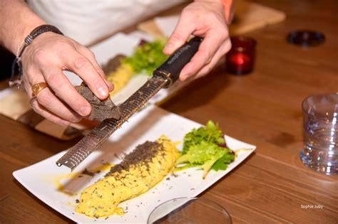 coiffe de cuisine omelette à la truffe fred coiffé bordeaux cuisine and co