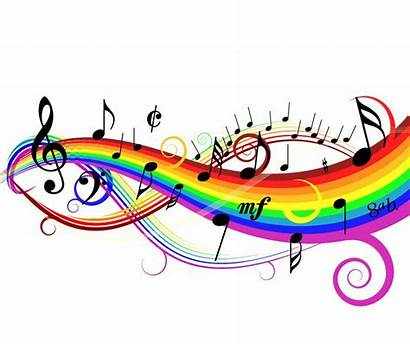 Background Colorful Vector Illustration Graphics Notes Musical