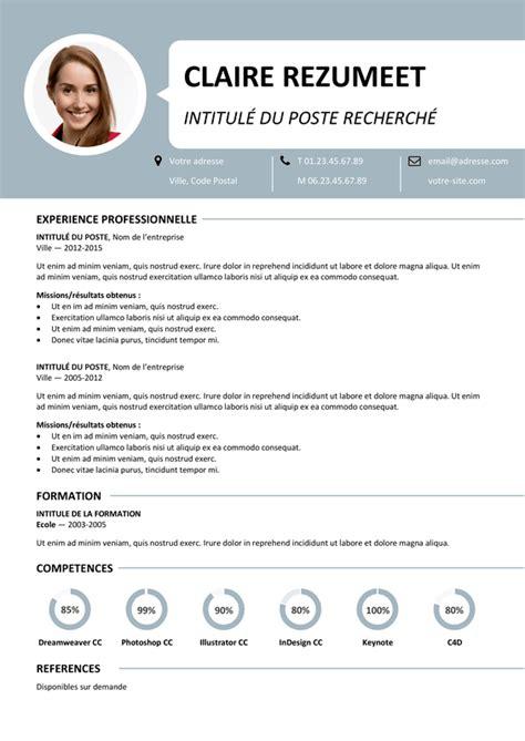 Cv Type Gratuit by Centrum Mod 232 Le De Cv 1 Page Rezumeet