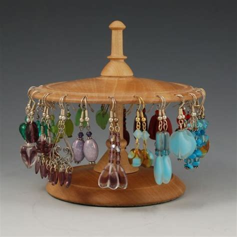 wood earring stands google search wooden christmas