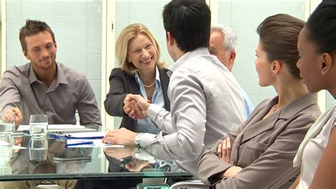 13921 business meeting handshake business and office concept businessman and