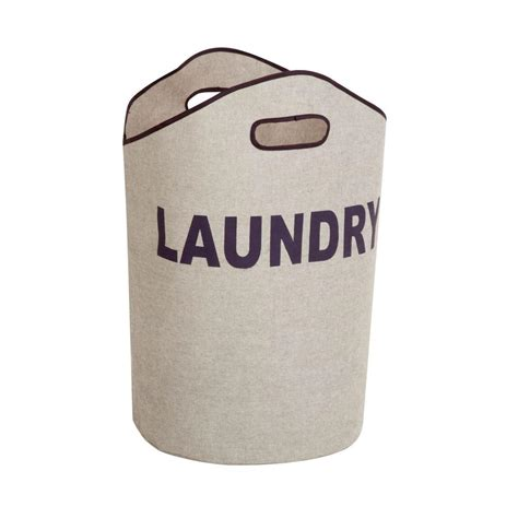 Honeycando Laundry Tote In Grayldy02915  The Home Depot