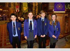 Middlewich High School community choir carol concert