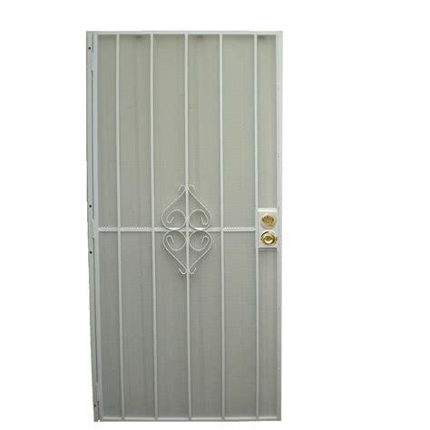 screen door home depot unique home designs 32 in x 80 in su casa white surface