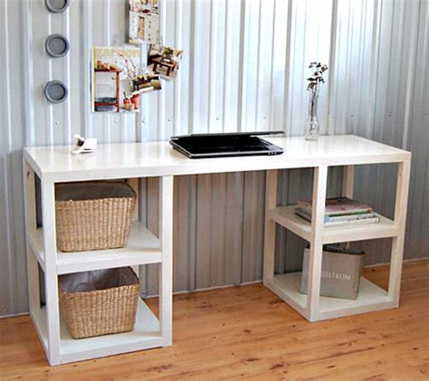 Easy To Make Diy Desk For Your Home Decozilla
