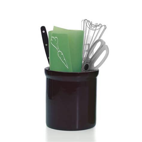 kitchen utensil holder large ceramic kitchen utensil holder black in kitchen