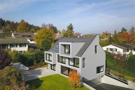 Wohnhaus Bei Zuerich by Wohnhaus Bei Z 252 Rich Schweizer Baudokumentation