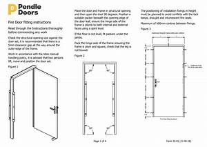 Fire Door Fitting Instructions