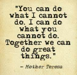 Mother Teresa Leadership Quotes