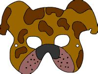 hundemaske kreative gestaltung tiermasken tiermasken