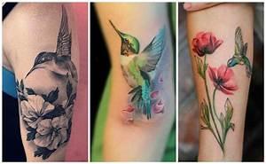 Tatuajes de colibrí que se mueven a la velocidad del rayo