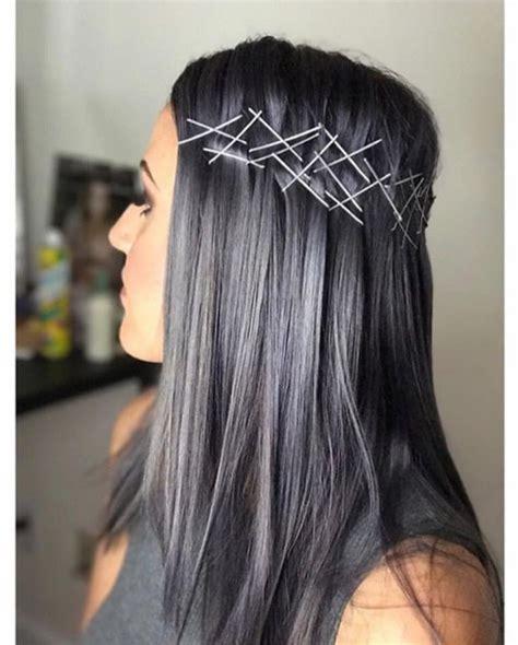 Charcoal Hair Dye by Charcoal Hair Is A Alternative To Rainbow Locks
