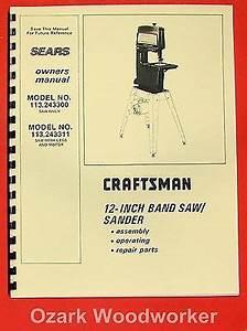 Craftsman Band Saw