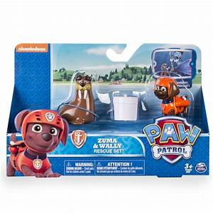 Paw Patrol Set : paw patrol set rescate zuma wally regalos go ~ Whattoseeinmadrid.com Haus und Dekorationen