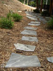 How To Lay a Flagstone Pathway how-tos DIY