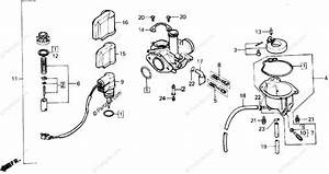 Honda Scooter 1987 Oem Parts Diagram For Carburetor