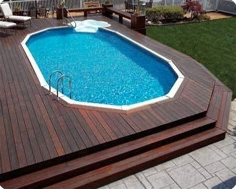 Prefab Deck For Above Ground Pool