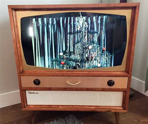 mid century tv unit jeff builds a midcentury modern tv cabinet for his flat screen tv retro renovation
