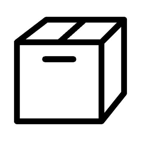 mailbox icon transparent ecommerce cardboard box icon ios 7 iconset icons8