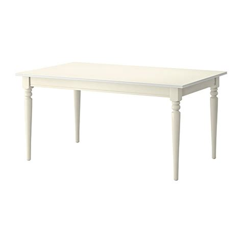 ikea white dining table ingatorp extendable table ikea