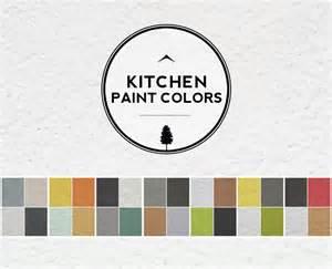 paint color ideas for kitchen walls a palette guide for kitchen color schemes decor and paint