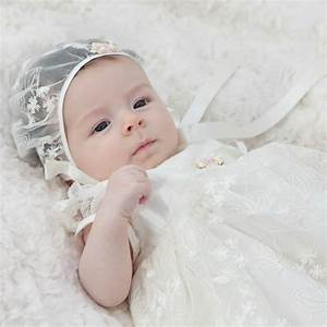 christening gown 39kate39 by adore baby notonthehighstreetcom With wedding dresses for babies