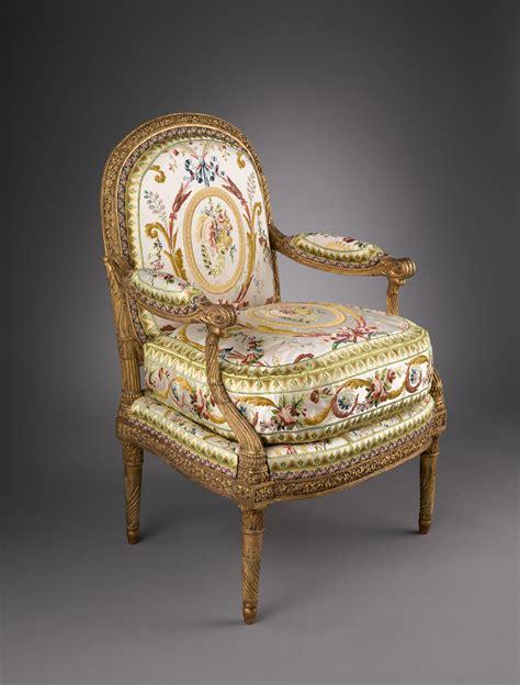 jacques gondouin armchair fauteuil  la reine french paris  met