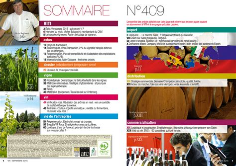 opera chambre agriculture viti n 409 septembre 2015 consultez le sommaire
