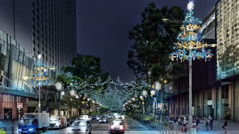 Orchard Road physical & virtual Christmas light-up to ...
