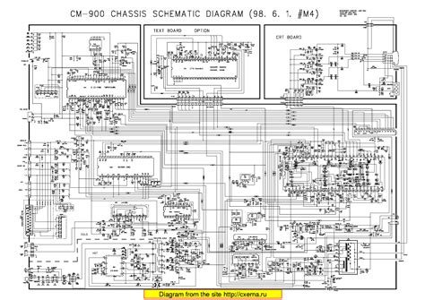 Daewoo Dtc-25 29 Chassis Cm-900 Sch Service Manual