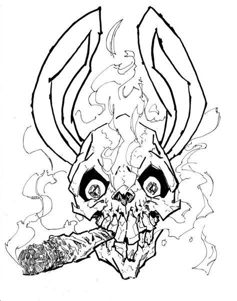 Bunny Skull | TATTOO | Sketches, Skull, Tattoo designs