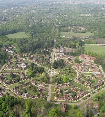 Village Aerial Whiteley Retirement Wikipedia Hersham Surrey